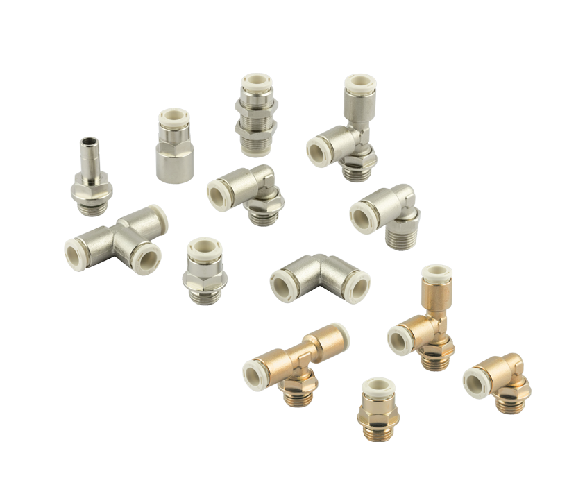 Range widening: Push-in fittings Series F PLUS